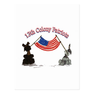 13th Colony Patriots Postcard