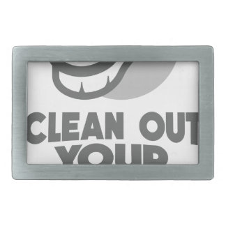 13th February - Clean Out Your Computer Day Belt Buckle