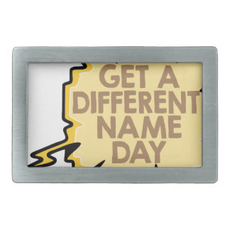 13th February - Get A Different Name Day Belt Buckle