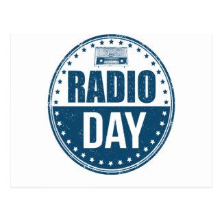 13th February - Radio Day - Appreciation Day Postcard