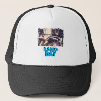 13th February - Radio Day - Appreciation Day Trucker Hat