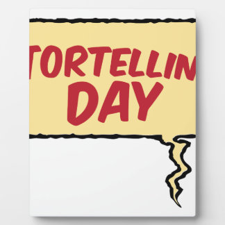 13th February - Tortellini Day - Appreciation Day Plaque