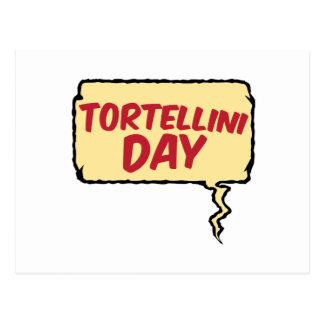13th February - Tortellini Day - Appreciation Day Postcard