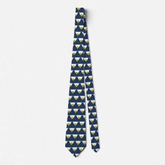 13th Pattern; Hidden Smiley Face Neck Tie