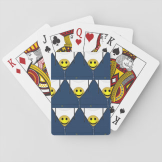 13th Pattern; Hidden Smiley Face Playing Cards