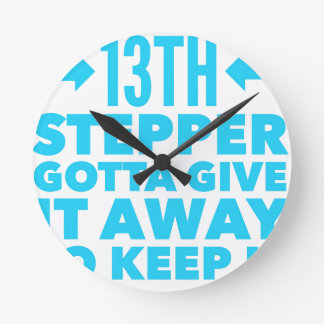 13th Step Sobriety Fellowship Recovery Round Clock