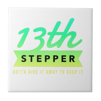 13th Step Sobriety Fellowship Recovery Tile