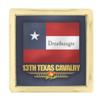 13th Texas Cavalry (v10) Gold Finish Lapel Pin