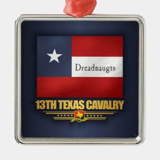 13th Texas Cavalry (v10) Metal Ornament