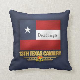 13th Texas Cavalry (v10) Throw Pillow