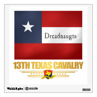 13th Texas Cavalry (v10) Wall Sticker