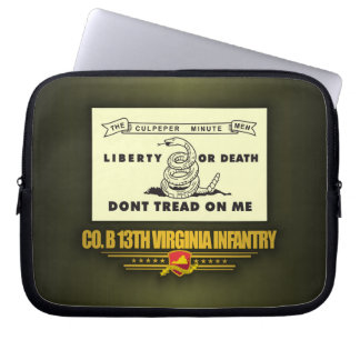 13th Virginia Infantry (Co B) Computer Sleeve