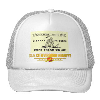 13th Virginia Infantry (Co B) Trucker Hat