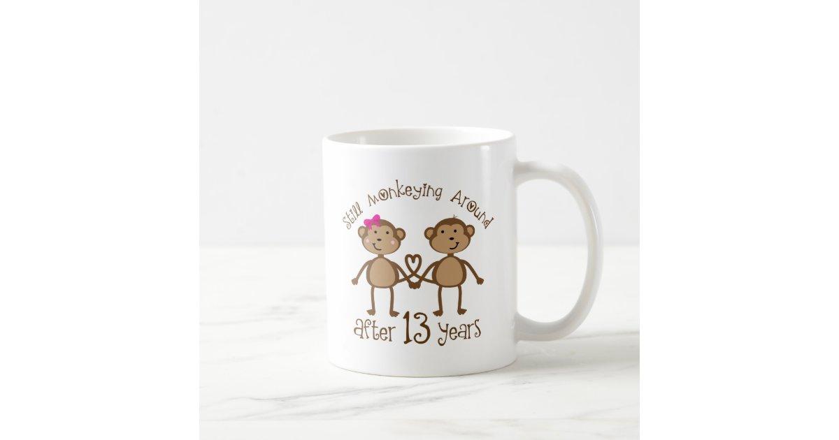 13 Wedding Anniversary Gifts: 13th Wedding Anniversary Gifts Coffee Mug