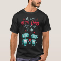 13th Wedding Anniversary Shirt.Cute Gift T-Shirt