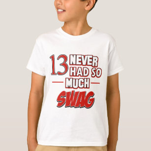 13th Year Old Birthday Designs T Shirt