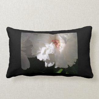 13x21 lumbar pillow black with flower
