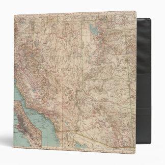 "14041 Calif, Nev, Utah, Ariz Carpeta 1 1/2"""