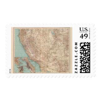 14041 Calif, Nev, Utah, Ariz Postage Stamp