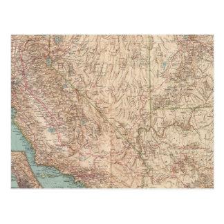 14041 Calif, Nev, Utah, Ariz Postcard