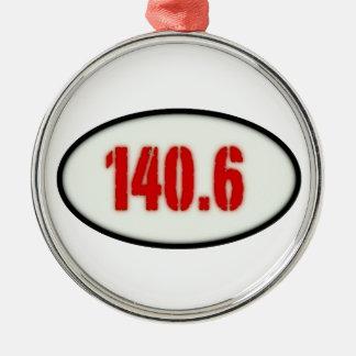 140,6 ADORNO NAVIDEÑO REDONDO DE METAL