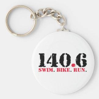 140,6 Funcionamiento de la bici de la nadada Llavero Personalizado