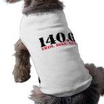 140,6 Funcionamiento de la bici de la nadada Playera Sin Mangas Para Perro