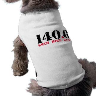 140,6 Funcionamiento de la bici de la nadada Camiseta De Mascota