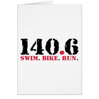 140,6 Funcionamiento de la bici de la nadada Tarjeta
