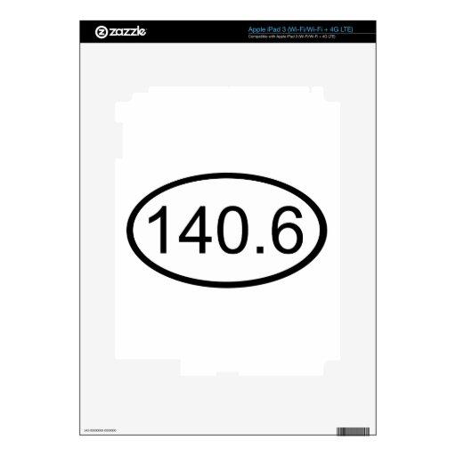 140,6 iPad 3 PEGATINA SKIN