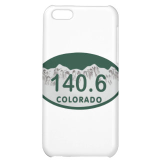 140.6 license oval iPhone 5C case