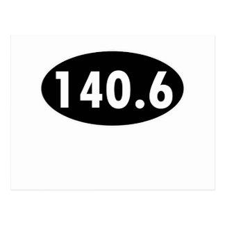 140 6 Óvalo de Triathalon Postales
