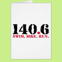 140.6 Swim Bike Run Card