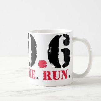 140.6 Swim Bike Run Classic White Coffee Mug