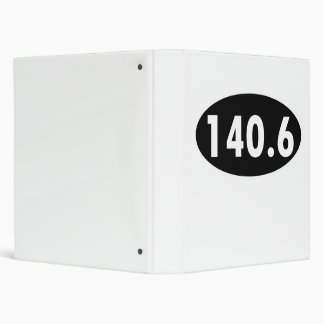 140.6 Triathalon Oval Binders