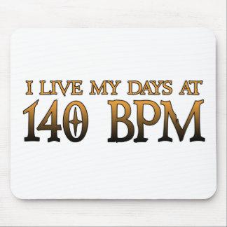 140 BPM Days DUBSTEP Mouse Pad