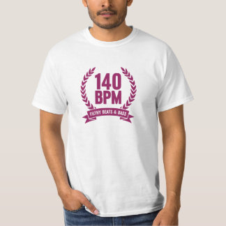 140 BPM Filthy Beats & Bass T-Shirt Dubstep Purple