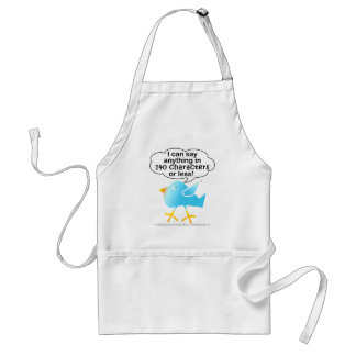 140 CHARACTERS Aprons