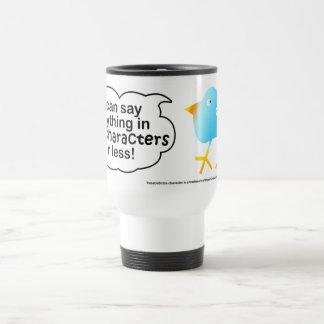 140 Characters Travel Cup Mug