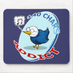 140 chars Addict Mouse Pads