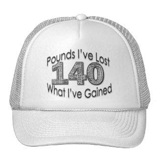 140 libras de gorra perdido