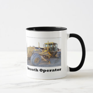 140H Motor Grader/Blade Smooth Operator Mug