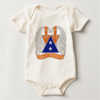 140th Aviation Regiment - Cura Et Perfectio Baby Bodysuit