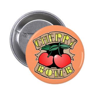 1413032011 Cherry Bomb Inverso (Rocker & Kustom) Button