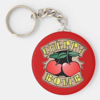 1413032011 Cherry Bomb Inverso (Rocker & Kustom) Keychain