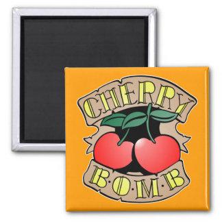 1413032011 Cherry Bomb Inverso (Rocker & Kustom) Fridge Magnets
