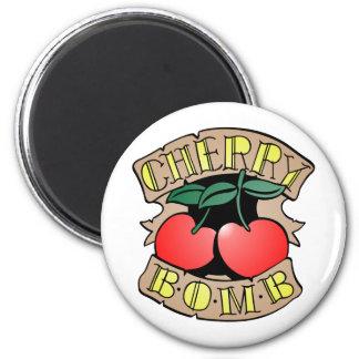 1413032011 Cherry Bomb Inverso (Rocker & Kustom) Fridge Magnet