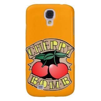 1413032011 Cherry Bomb Inverso (Rocker & Kustom) Samsung Galaxy S4 Cover