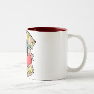 1413032011 Cherry Bomb Inverso (Rocker & Kustom) Two-Tone Coffee Mug