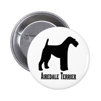 1415112006 Airedale Terrier (Animales) Pins